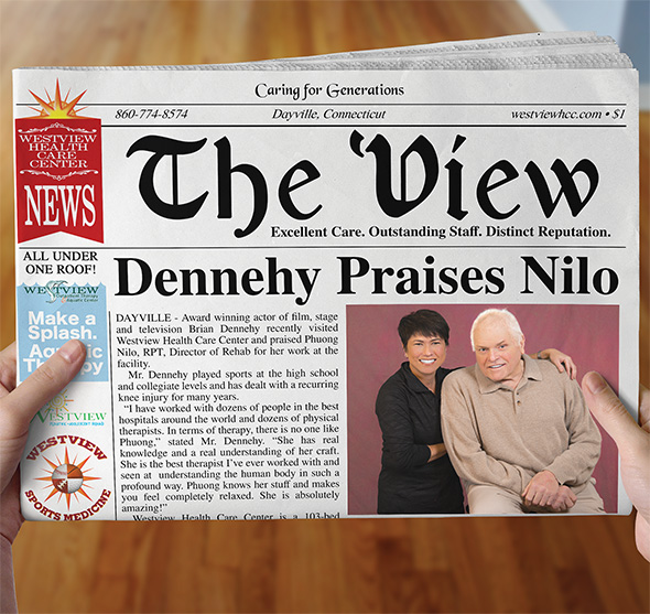 Photo of Brian Dennehy ad