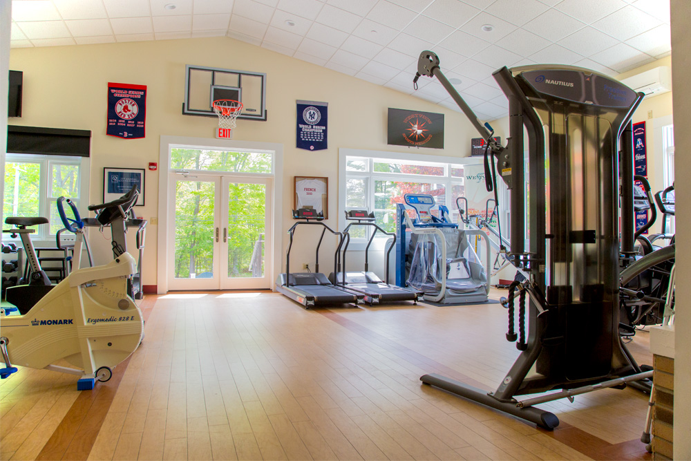Photo of one of Westview's Outpatient gyms