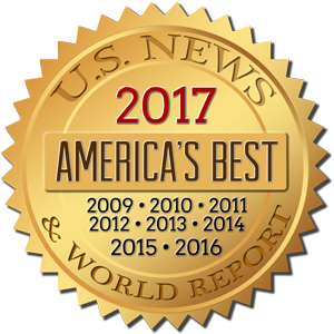 image of U.S. News and World Report badge