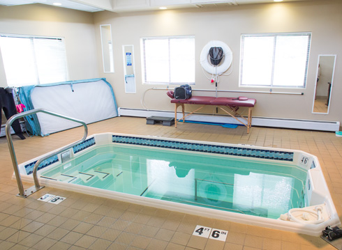 Photo of Westview's Aquatic Therapy Pool