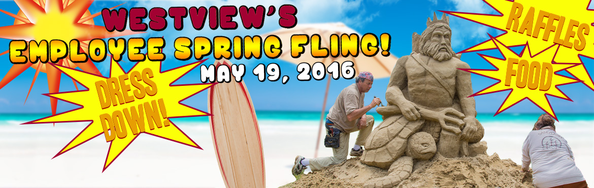 image of Spring Fling announcement