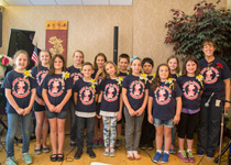 Photo of Mary R. Fisher Elementary School's Fortezza Choir