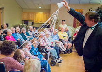 image of Magician Brian LaPalme at Westview