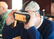 Image of Westview Resident and Virtual Reality