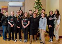image of Tourtellotte Memorial High School's Modern Music Ensemble