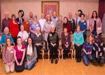 Image of Volunteer Dinner group photo