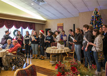 Image of Woodstock Academy Carolers