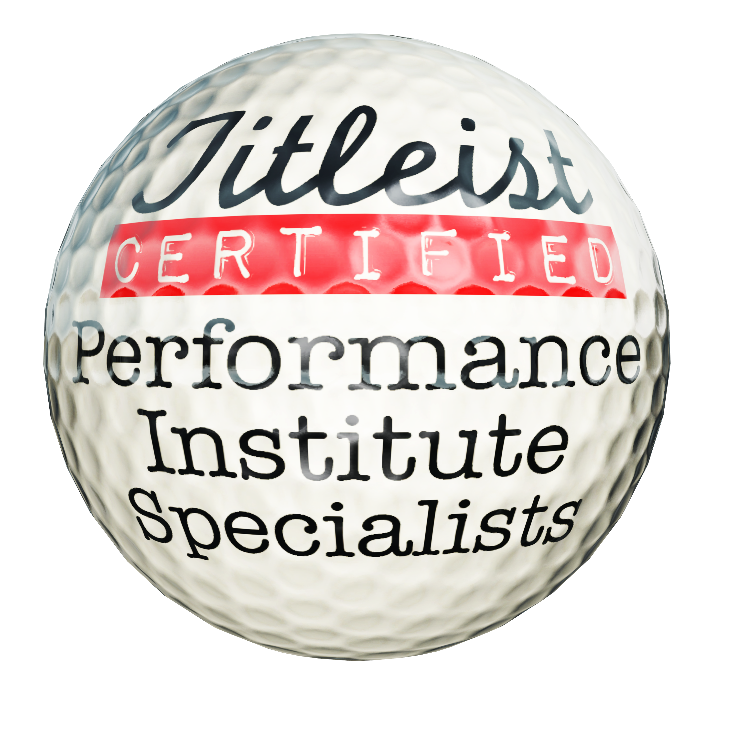 image of Titleist Certified Performance Specialists golf ball