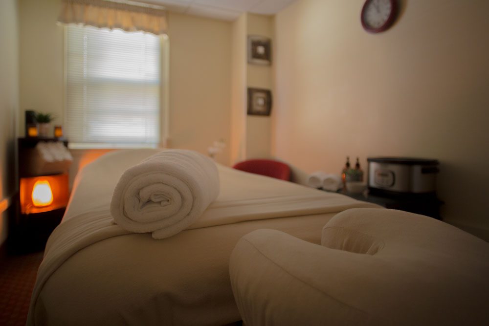 Photo of Westview's Massage Therapy room