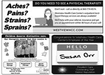 Thumbnail image of Outpatient Classifieds Advertisement, Version 4