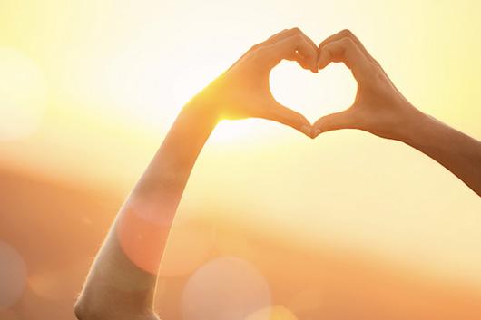 image of Heart sun