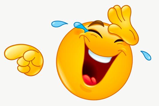 image of laughing emoji