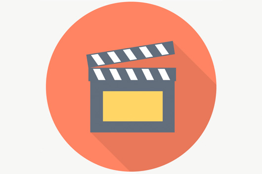 image of movie clapboard