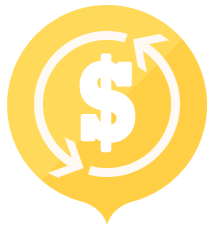 Cost efficiency icon