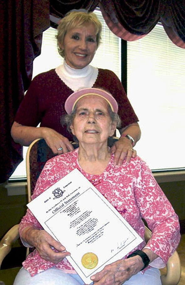 Centenarian Status photo