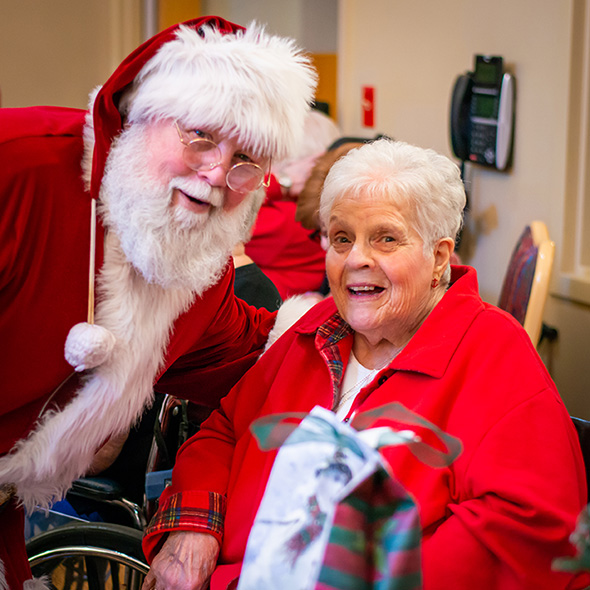 Image of Santa at Westview