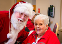 Image of Santa at Westview