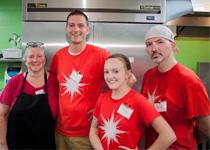 image of members of Westview's Dietary Department