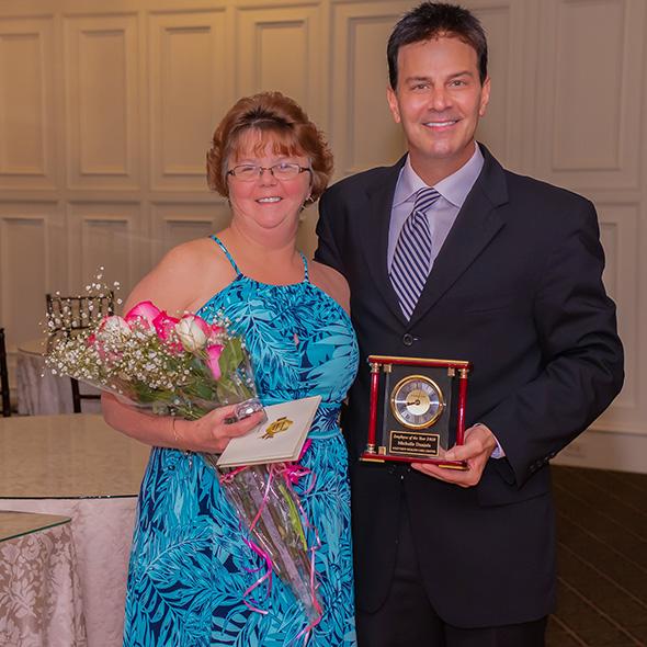 image of David T. Panteleakos and Michelle Daniels