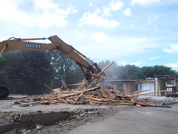 East Wing Demo photo