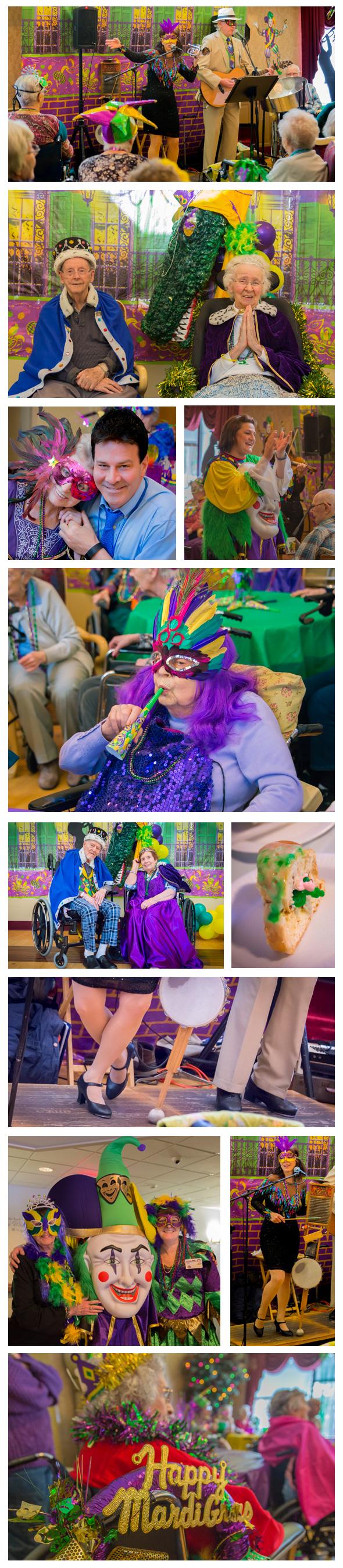 Photos of Mardi Gras festivities