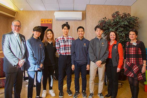 Image of Rectory students at Westview