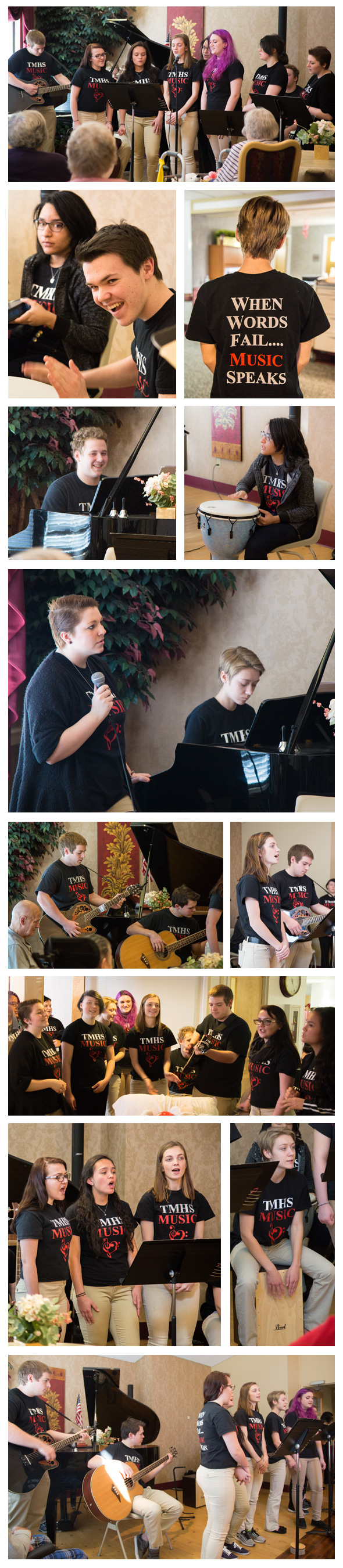 Photo of Tourtellotte Memorial High School Music Ensemble