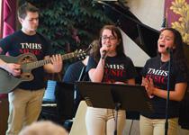 Photo of Tourtellotte HS Modern Music Ensemble