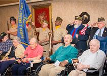 image of Westview Veterans Day ceremony