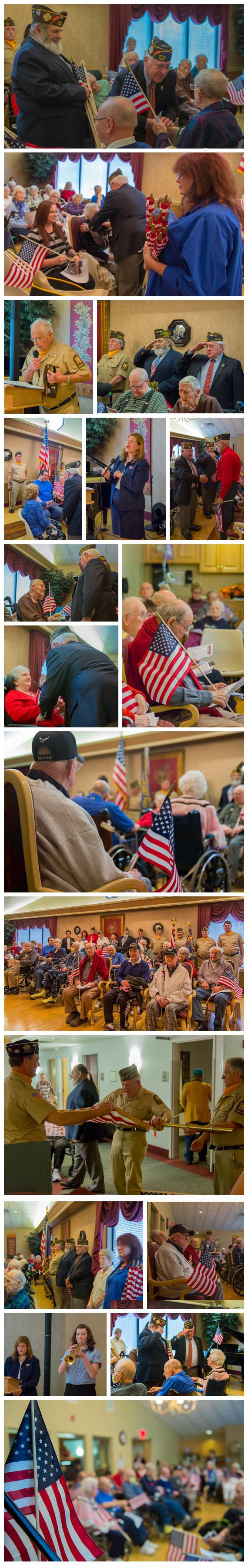 Photo of Veterans Day Ceremony