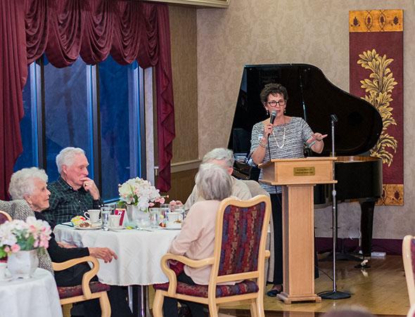 Image of Volunteer Appreciation Dinner at Westview