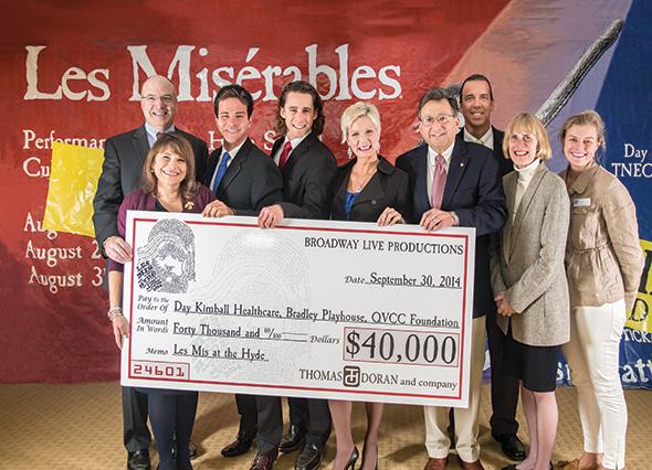 Photo of Donation Check (Les Misérables)