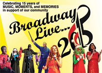 Photo of Broadway Live poster