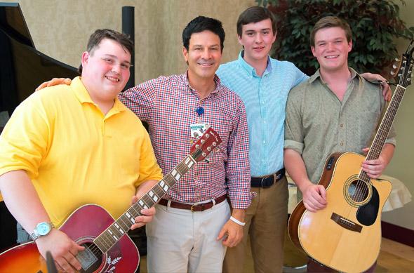 Photo of Woodstock Academy musicians