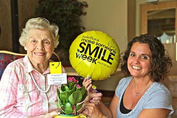 Smiling Resident at Westview